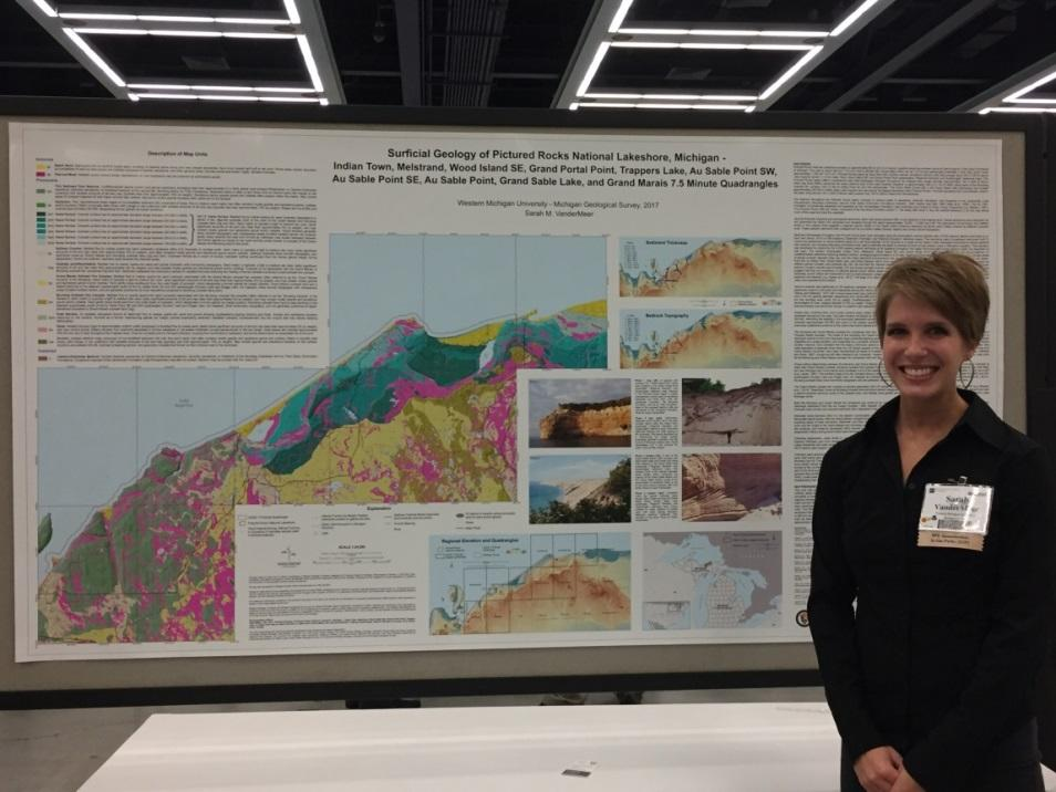 2017 Best Student Geologic Map Contest 1st Place Winner