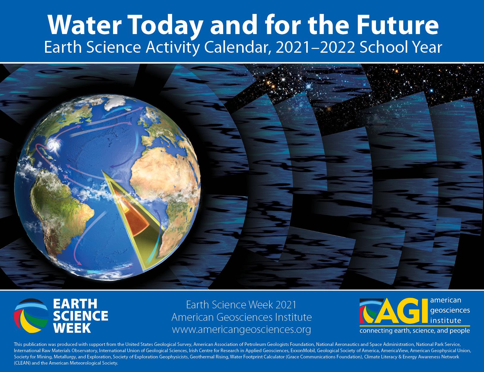 2021-2022 Earth Science Week Calendar