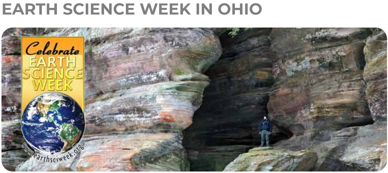 Earth Science Week with the ODNR Division of Geological Survey
