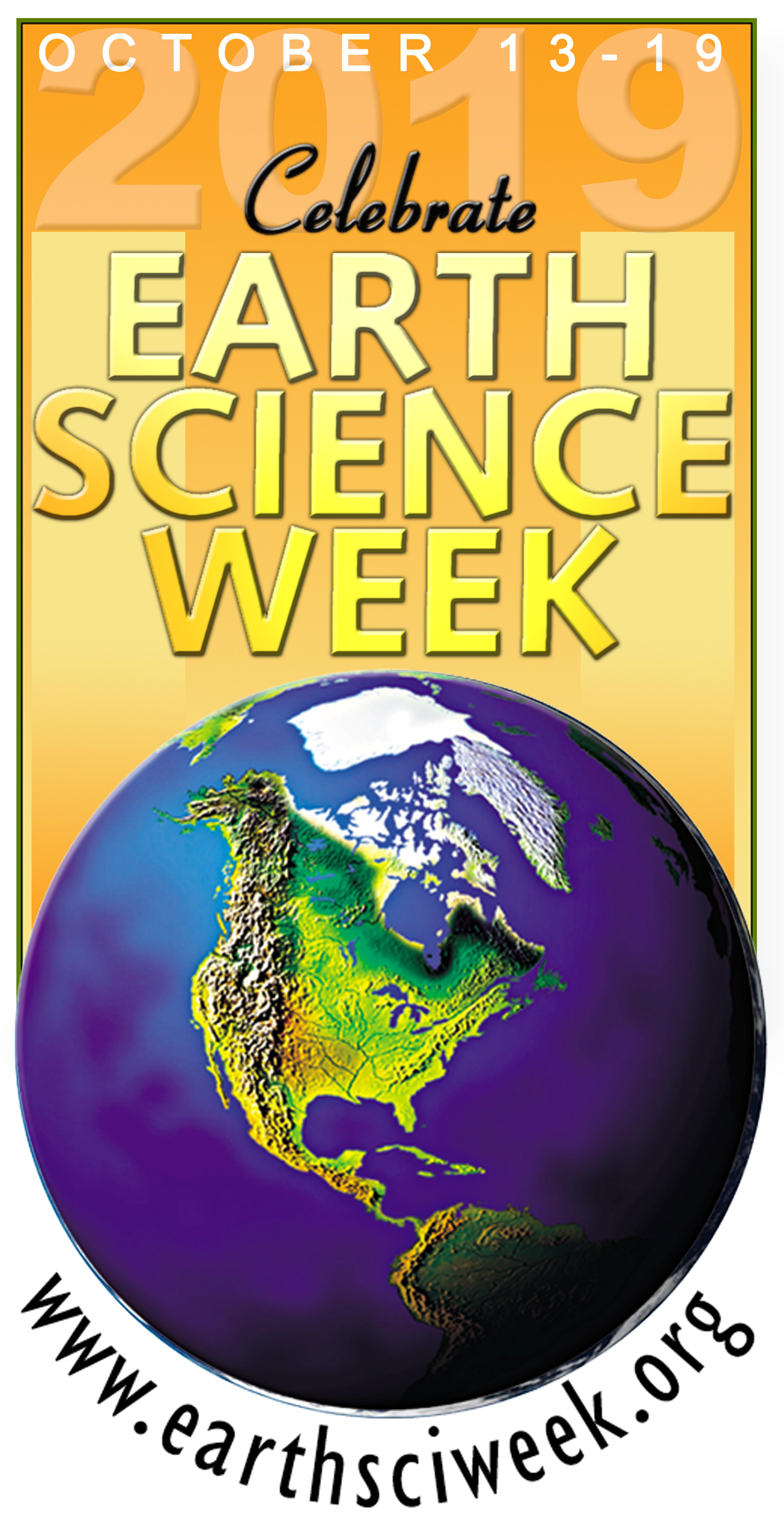 Earth Science Week 2019 vertical logo