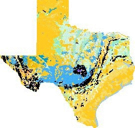 Geologic Map of Texas