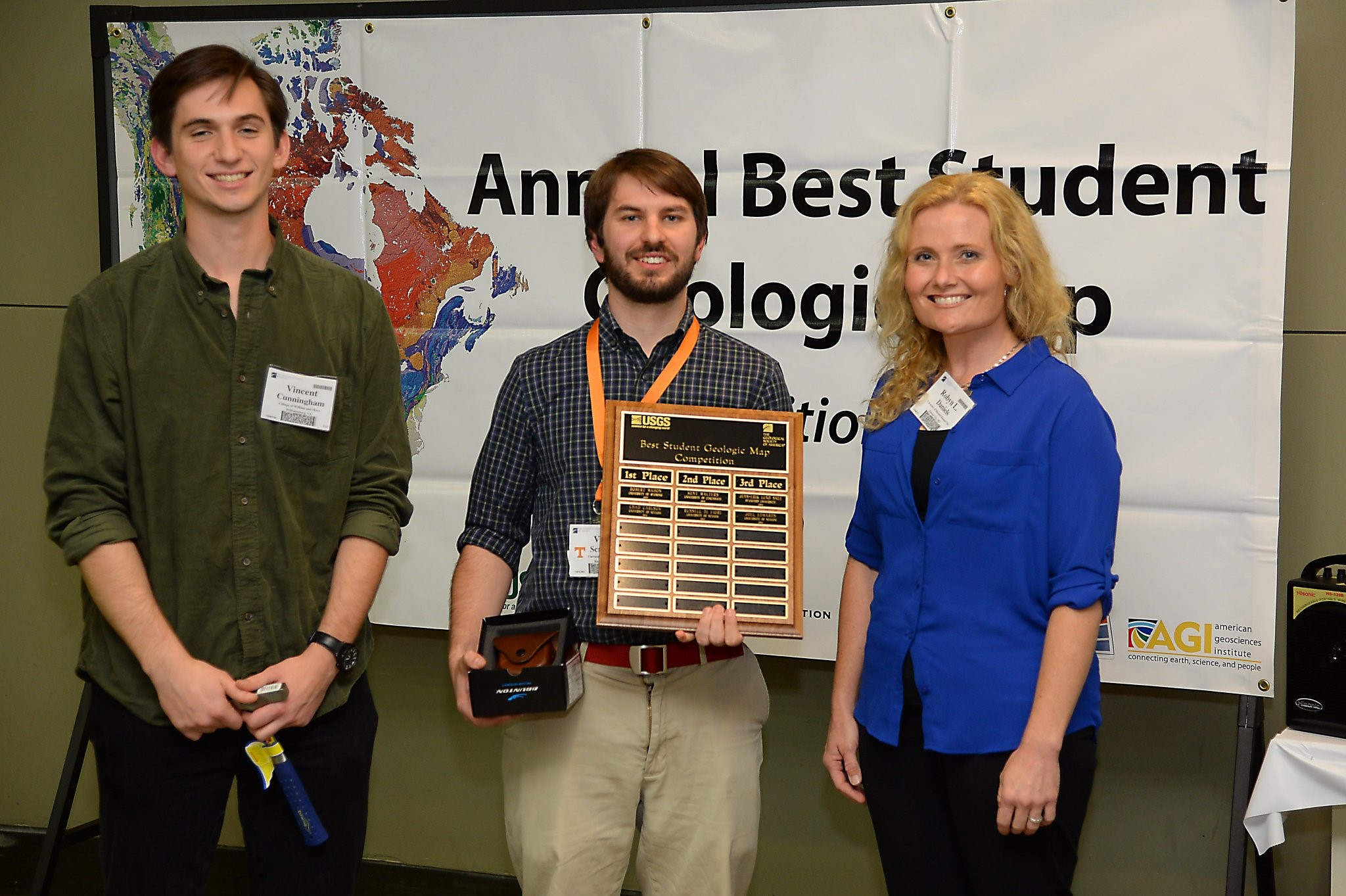 2015 Best Student Geologic Map Contest Group Photo