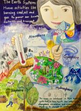 Earth Science Week 2015 Visual Arts Contest Winner Anna Lee